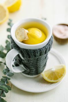 Soothing Honey and Lemon Sore Throat Tea. While this may be labeled sore throat tea, it can also be enjoyed as an immune-loving early morning drink, or as an afternoon pick-me-up. No sore throat required!