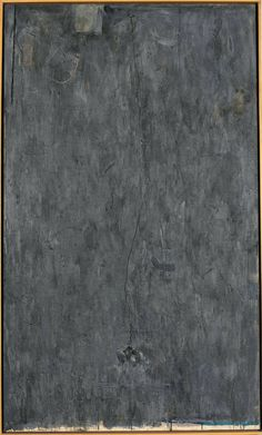 Jasper Johns | No | 1961 | Encaustic, collage, and Sculp-metal on canvas with objects | 68 x 40 inches