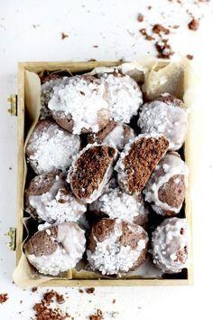 Holiday Desserts, No Bake Desserts, Dessert Recipes, Homemade Sweets, Homemade Cakes, Cookies And Cream Cheesecake, Vegan Christmas, Xmas Food, Polish Recipes