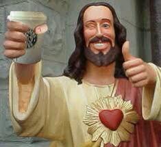 Jesus in the modern day sculpture