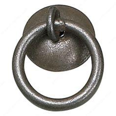 Poignée traditionnelle en fer forgé - 5480 - Quincaillerie Richelieu