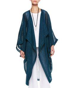 Cocoon Coat, Marine by eskandar at Neiman Marcus.