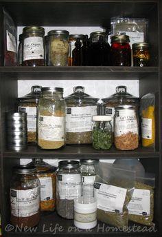 medicinal herbs home collection