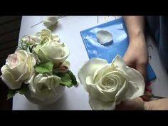 декоративные веточки и немножко о РОЗЕ!! Мастер Класс от Риты часть 2 - YouTube