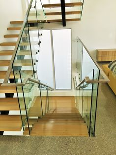 At Toughn Glass, we offer frameless glass balustrade in Melbourne for many purposes and they can be customized as per the clients need as well. What are you waiting for? Contact us today! Frameless Glass Balustrade, Melbourne House, Glass Door, Stairs, Gallery, Waiting, Home Decor, Stairway, Decoration Home