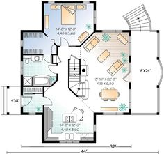 Cottage with Loads of Options - 2105DR | 1st Floor Master Suite, CAD Available, Canadian, Cottage, Country, Metric, PDF, Photo Gallery, Sloping Lot, Vacation | Architectural Designs