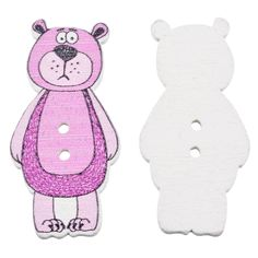 Cheap scrapbooking craft, Buy Quality buttons decorative directly from China wooden buttons Suppliers: FUNIQUE 50Pcs Mixed Colorful Cartoon Bear 2-Hole Wooden Button Decorative Clothes Sewing Button DIY Scrapbooking Crafts