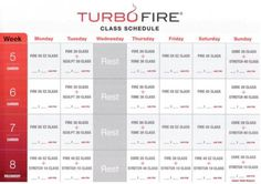 33 Awesome turbo fire schedule images