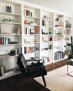 Pwfixerupper ikea billy bookcase hack, built in bookcase, ikea billy hack, book Billy Ikea Hack, Ikea Billy Bookcase Hack, Bookshelves Built In, Billy Bookcases, Floor To Ceiling Bookshelves, Bookshelf Wall, Bookshelves In Living Room, Billi Regal, Interior Design Living Room