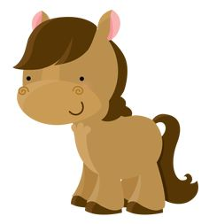Pony minus say hello predlohy clip art ponies and image Farm Animal Party, Farm Party, Cute Images, Cute Pictures, Farm Animals, Cute Animals, Barn Parties, Baby Mobile, Clip Art