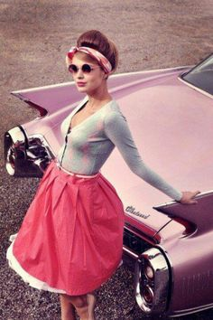 cute pinup girl style