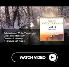 Celebration of Winter Visualization - Guided Meditation - 20 of 30 + Soft Music Bedtime Meditation, Evening Meditation, Meditation Kids, Mindfulness Meditation, Guided Meditation, Dream Blanket, Natural Waves, Tropical Beaches, Thoughts And Feelings