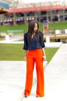 Work style: color blend