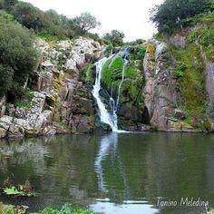 Sardegna-Le cascate di Triulintas a Martis