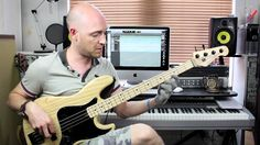 Funk Bass Groove #2 - Lesson with Scott Devine (L#67)