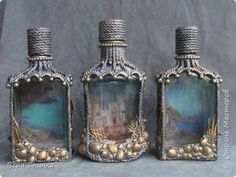 Decorated bottles