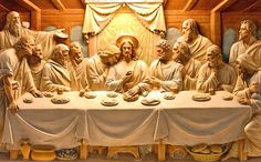 Holy Thursday, the Mass of the Lord's Supper, is a retelling of the story of… Lords Supper, Last Supper, Holy Thursday, Throwback Thursday, Jesus Christ Images, Home Altar, Dark Art Drawings, Eucharist, Jesus Is Lord