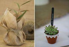 Plant Pots Wedding Favours