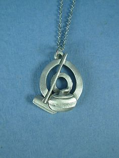 Pewter Curling Stone Ideal Presentation Gift Can Be Engraved