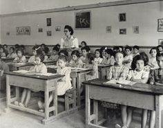 JDC-supported Jewish day school. Casablanca, Morocco, c. 1948