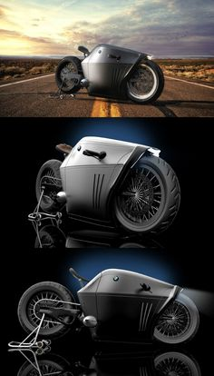 When it was named the BMW Radical, it was named for a reason. Radical absolutely redefines the way we perceive bikes, and in a good way | Read Full Story at Yanko Design