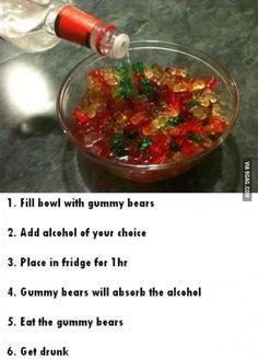 Alcoholic Gummy Bears