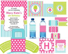 1000 images about party theme stripes and dots on for Dots and stripes party theme