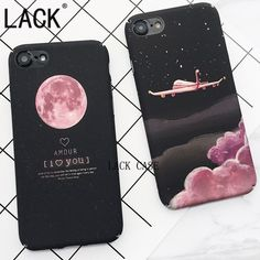 Cheap phone cases, Buy Quality case for directly from China case fashion Suppliers: LACK Top Selling Space Moons Phone Case For Fashion Candy Cartoon airplane frosted Back Cover For iphone 7 Capa Cheap Phone Cases, Diy Phone Case, Cute Phone Cases, Iphone 7 Plus Cases, Iphone Phone Cases, Cell Phone Covers, Coque Iphone 5s, Smartphone Iphone, Accessoires Iphone
