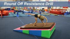 Round Off Resistance Drill A powerful hurdle and well shaped rebound are important for a strong, efficient round off. Working a round off up an incline will . Gymnastics At Home, Gymnastics Lessons, Gymnastics Routines, Preschool Gymnastics, Gymnastics Tricks, Gymnastics Floor, Tumbling Gymnastics, Gymnastics Coaching, Gymnastics Training