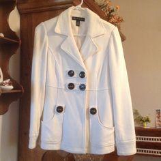 INC PEA COAT INC International Concepts pea coat. Size M. 100%Cotton She'll. 100%Polyester Lining INC International Concepts Jackets & Coats Pea Coats