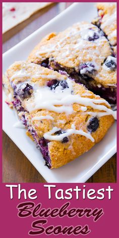Delicious Blueberry Scones