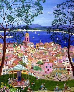 Il mondo di Mary Antony: L'arte Naif di Cellia Saubry
