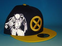 d1e443db242 from  49.95 - New Era Wolverine 59fifty Hat Size 7 3 8 Custom X-