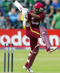 CARDIFF, WALES - JULY 3: West Indies captain Brian Lara pulls a ball for four runs during his half century during the 6th Natwest Series game between New Zealand and the West Indies at Sophia Gardens on July 3, 2004 in Cardiff, Wales.