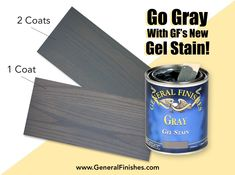 Whether your style is rustic glam or chic and modern, Gray Gel Stain has you covered! Get that gorgeous weathered driftwood style with the newest addition to our Gel Stain line. Stock up on this fabulous product! Submit your zip code in our retail locator at http://bit.ly/1pEtZMu to see a list of GF Retailers in your area.