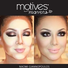 We are loving our new motives maven sculpt series, created with the help of six fabulous Motives Maven! Take a look of the gorgeous contour #motivescosmetics #contour #MotivesMaven #transformation #Padgram