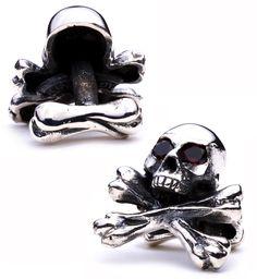 King Baby Skull Cufflinks