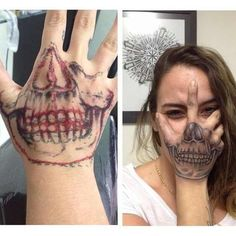 Top 22 Best Hand Tattoos Click the link 22 best of hand tattoo tattoo of tattoo tattoo of hand tattoo Skull Hand Tattoo, Skull Tattoos, Body Art Tattoos, Drawings Of Tattoos, Sleeve Tattoos, Tattoos For Women Half Sleeve, Hand Tattoos For Women, Badass Tattoos, Fake Tattoos