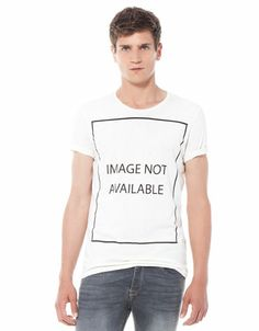 Bershka - Message T-shirt