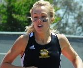 Cal State L.A.'s Lisa Ohberg has been named the NCAA Division II West Region female scholar-athlete of the year for 2012-13.
