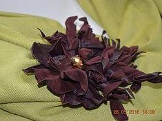 Создаем цветок-брошь «Фантазия» из натуральной кожи - Ярмарка Мастеров - ручная работа, handmade