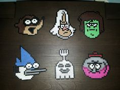 Hey, I found this really awesome Etsy listing at https://www.etsy.com/listing/187624402/regular-show-characters