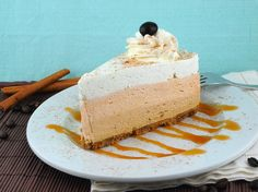 Pumpkin Spice Latte Cheesecake by @Jeanine Friesen ~The Baking Beauties