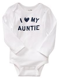 I want your children to wear this one day. Unless we can find one that says I <3 my crazy mimi.