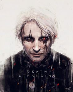 Mads Mikkelsen in Death Stranding a game by Hideo Kojima  Credits: RainNoir