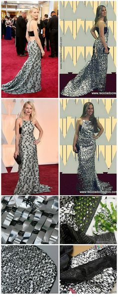 Red Carpet Dress- Oscar - Reciclado Creativo Vestido de alfombra roja #Oscars #Oscars2015 #Oscars2016 https://youtu.be/rj6n3I3_skA?list=PLemyWmGdwuSOadr85AUSy7Fvvt26iKvWo