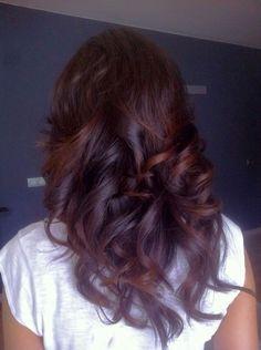 Ombre hair. Mechas californianas oscuras