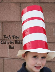 Craft a Colorful Hat with Duct Tape | 101 Duct Tape Crafts
