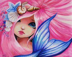 Art: Sweet Pink Haired Maid by Artist Nico Niemi