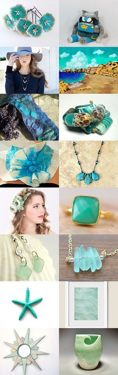 Foaming Sea by Gabbie on Etsy